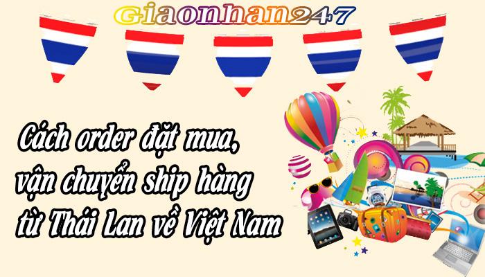 van chuyen ship hang tu thai lan ve viet nam
