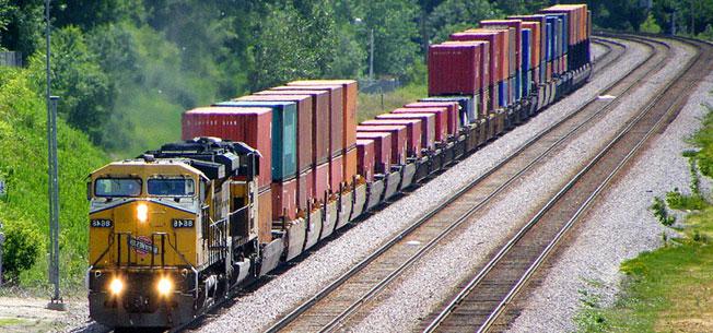 Vận chuyển container quốc tế bằng đường sắt 1