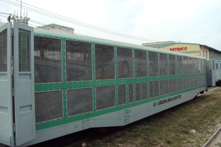 Vận chuyển ô tô bằng đường sắt Bắc Nam giá rẻ 1