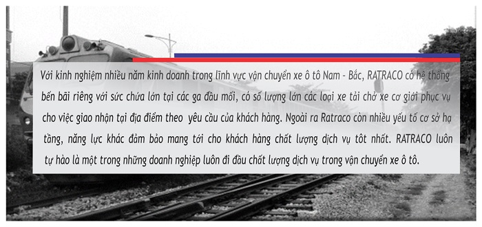 Vận chuyển ô tô bằng đường sắt Bắc Nam giá rẻ 4