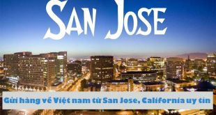 gui hang ve viet nam tu san jose