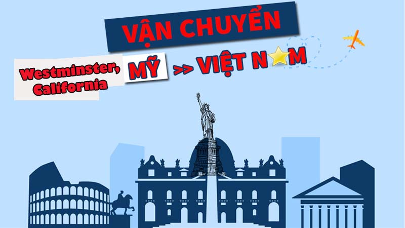 gui hang ve viet nam tu ưebstminster