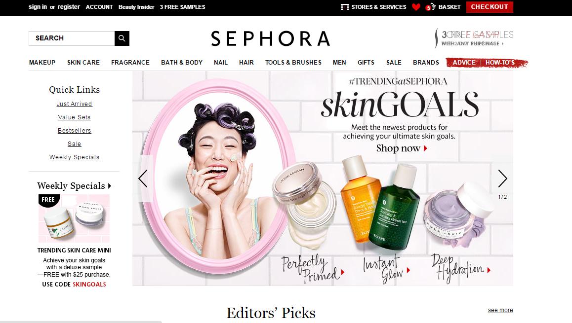 Sephora khong nhan ship hang ve viet nam