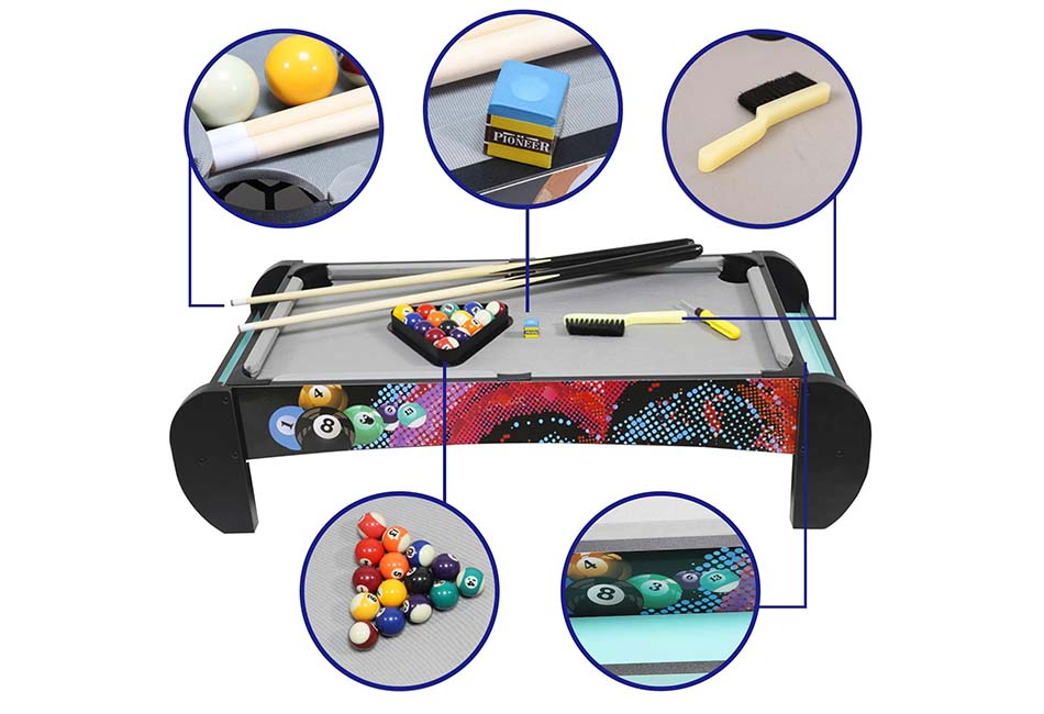 bida Pool Table-Tabletop Mini Pool Table Set and Accessories