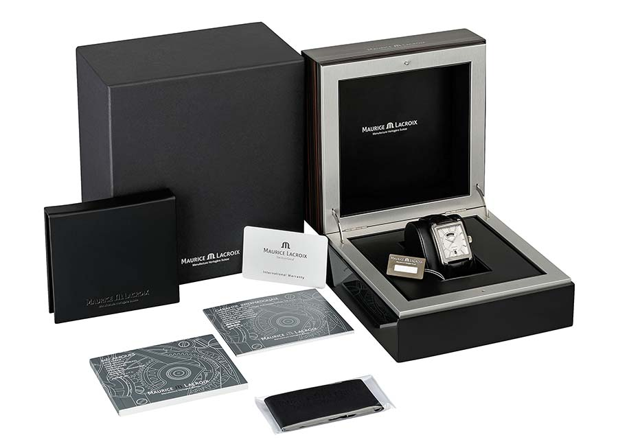 Maurice Lacroix Pontos Rectangulaire Day Date