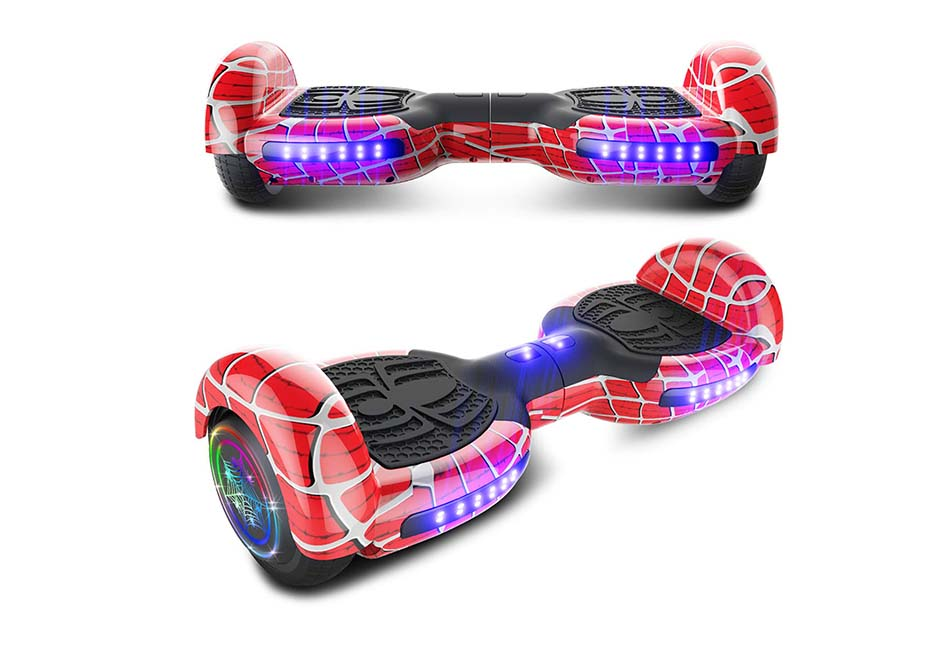 xe can bang Spider Wheels Series Hoverboard UL2272