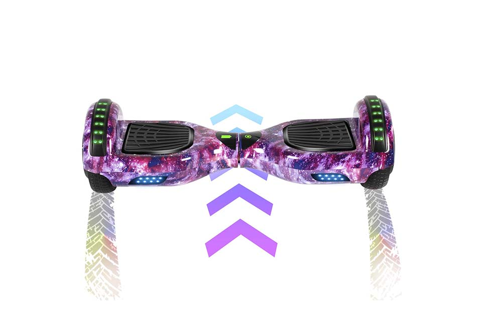 """FLYING-ANT Hoverboard Self Balancing Scooters 6.5"""" Flash Two-Wheel Self Balancing Hoverboard"""