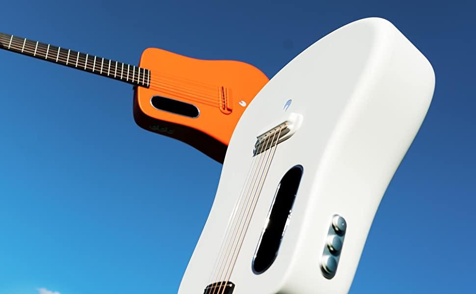 review chiec guitar Lava Guitar Carbon van nguoi me