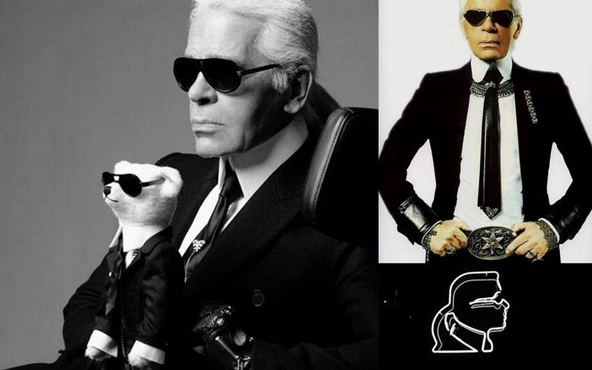 Karl Lagerfeld luon xuat hien cung kinh Chrome Hearts