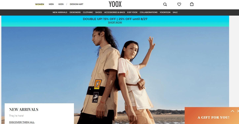 cach mua hang tren yoox website