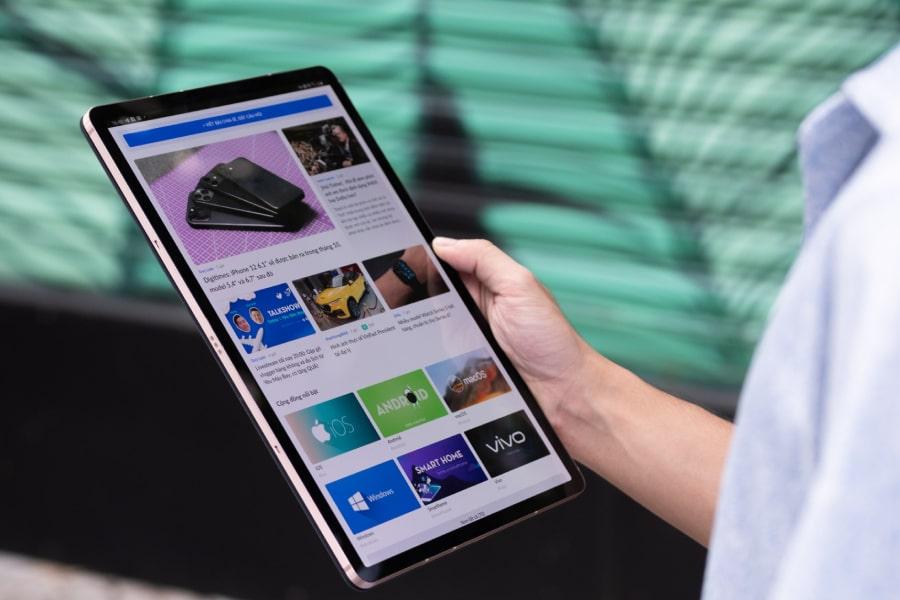 Samsung Galaxy Tab S7 so huu thiet ke dep